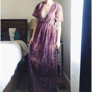 6feab03a8f28 Haute Monde Dresses - H A U T E 》Lace Maxi Romper Dress